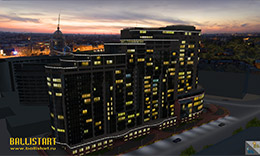 "Residential complex ""MontBlanc"" for Stroymontazh company"